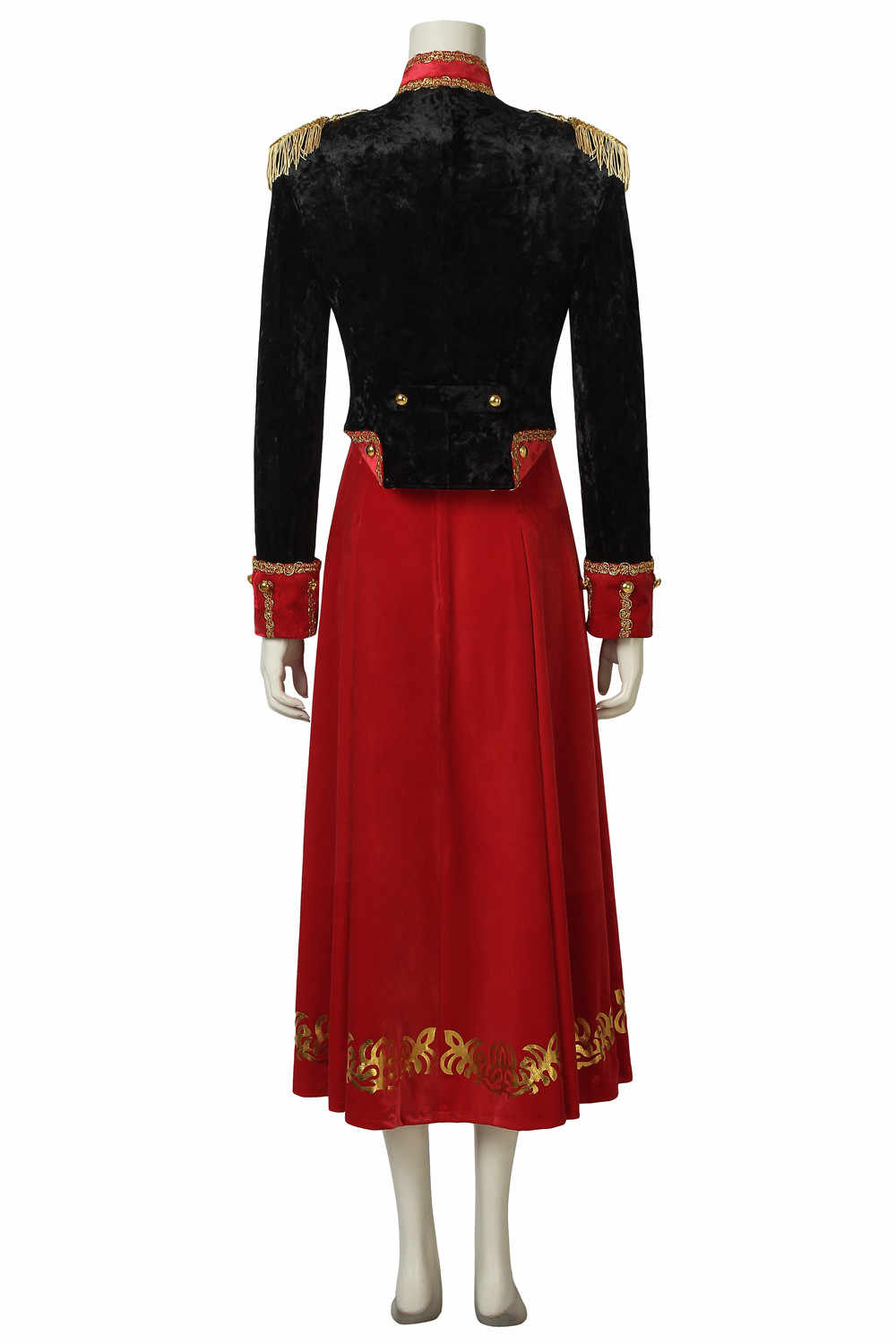 ... Stage Clothes The Nutcracker and the Four Realms Cosplay Clara Costume  Uniform Dress Halloween Carnival Customize ... b15fb307cf23