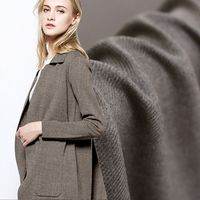 Fashion Imported Twill Woolen Delicate Wool Fabric For Coat Suit Ultra Soft Autumn And Winter Fabrics