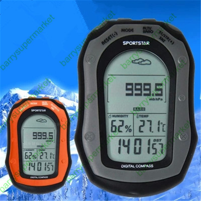 Multifunctional Handheld Workstations Altitude Table Compass Altitude meter Barometer Outdoor altimeter Fishing barometer