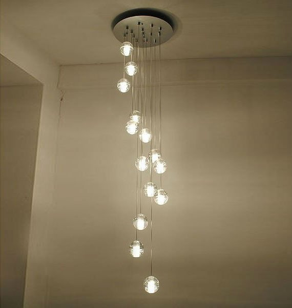 Top Quality Clear Glass Pendant Lamp Bocci 14 Lights By Omer Arbel Meteor Shower Chandelier Lighting
