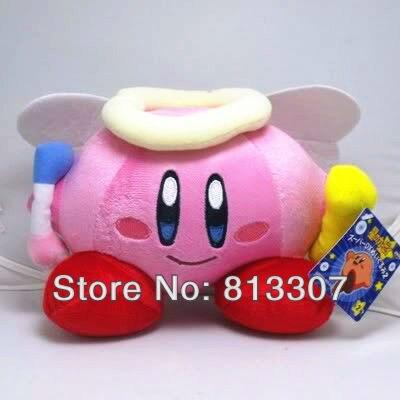 Super Mario Bros Kirby Plush Toys 7inch Stuffed Plush Doll Toys Animal Stuffed Doll