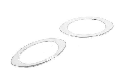Car Styling Chrome Side Marker Light Trim For Mazda 2
