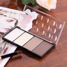 Face Powder Palette Shading 4 in 1 Makeup Set