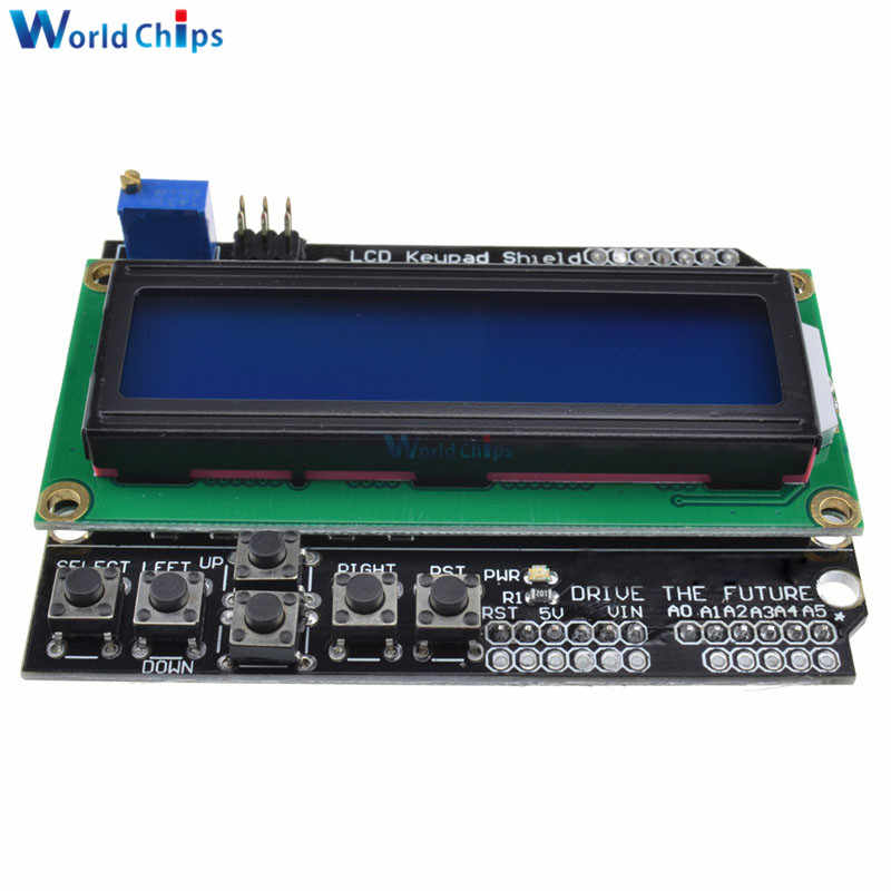 Écran LCD 1602 écran LCD 1602 pour Arduino ATMEGA328 ATMEGA2560 écran bleu framboise Pi UNO