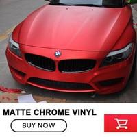 Satin Chrome Red Vinyl Wrap Black Vinyl Wrap Gold Vinyl Wraps With Air Bubble For Car