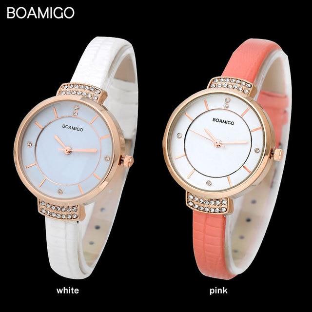 Zegarek damski Boamigo dwa kolory