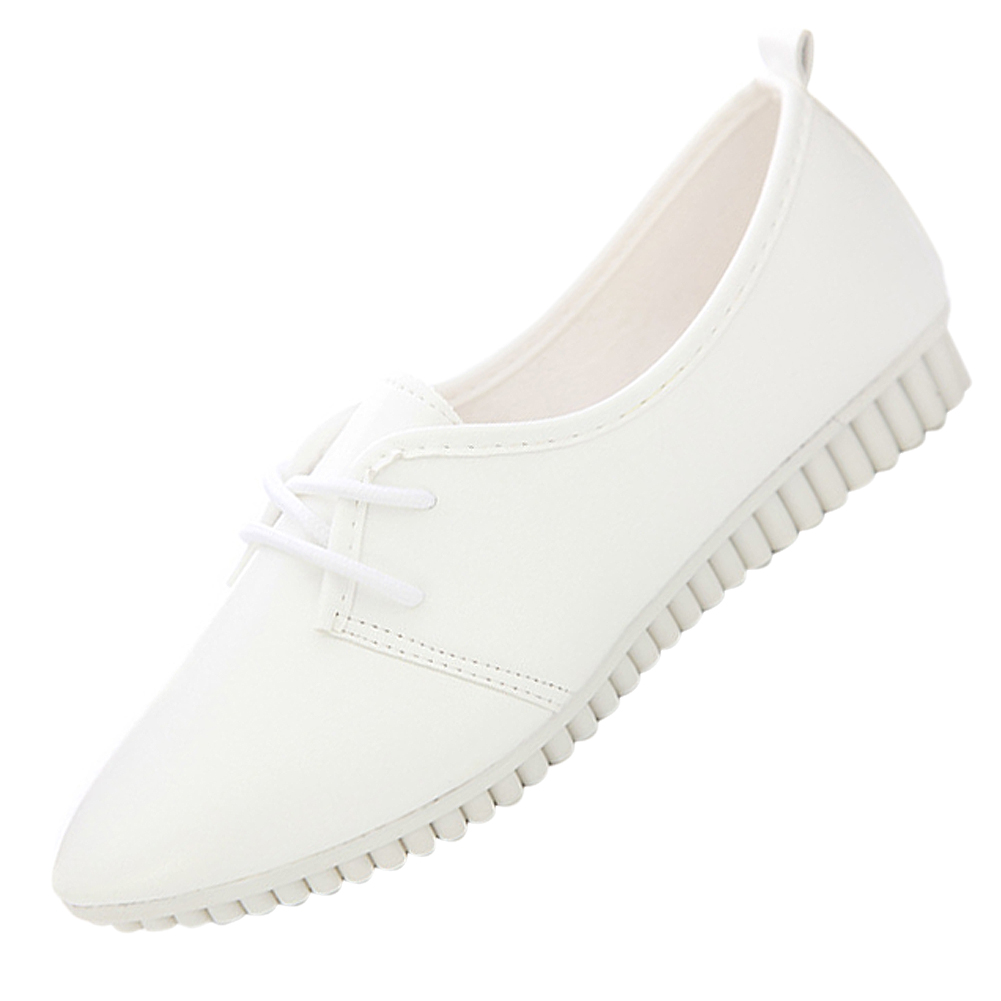 VSEN vintage women flat shoes white US5=EUR36=length 23CM imc vintage women flat shoes white us4 eur35 length 22 5cm