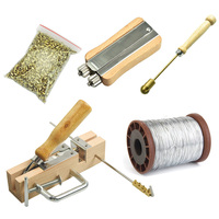 Beekeeping Tools Equipment Frame Hole Perforation Buried Wire Set+Copper Eye+Frame Puncher+Steel Wire+Metal Wire Tightener|Beekeeping Tools| |  -