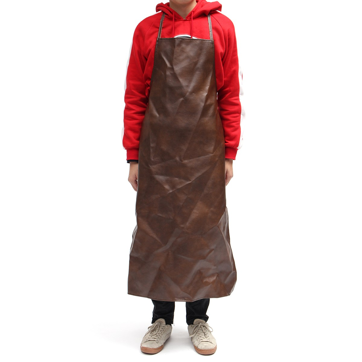 NEW Safurance Leather Equipment Apron Waterproof Washable Heat Insulation Kitchen Workplace Safety Clothing new safurance welders dual leather