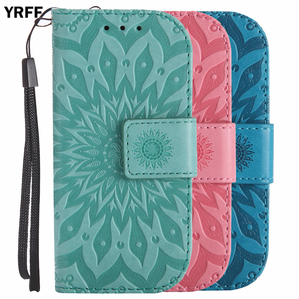 YRFF Fashion 3D relief Sunflower pattern Flip Leather <font><b>Case</b></font> For <font><b>Nokia</b></font> <font><b>3310</b></font> Phone Cover <font><b>Cases</b></font> image