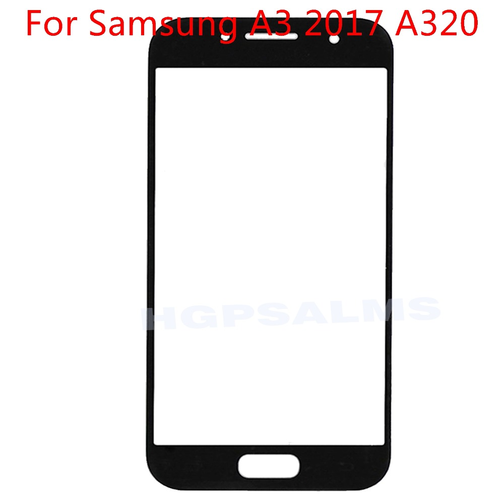 For <font><b>Samsung</b></font> Galaxy A3 2017 <font><b>A320</b></font> <font><b>LCD</b></font> display outer touch panel screen glass replacement image