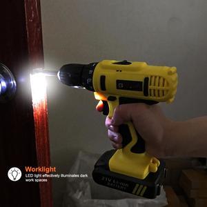 Image 5 - GOXAWEE 21 V/12 V ไฟฟ้าไขควงไฟฟ้าไร้สาย Mini เจาะลิเธียมแบตเตอรี่ลิเธียมไอออนแบบชาร์จไฟได้เครื่องมือ 2 Speed