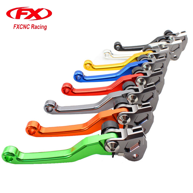 CNC Dirt Bike Motorcycle Brake Clutch Lever For Gas Gas EC 2T 2000-2017 EC 4T 2010-2013 2011 2012 FSE FSR 2003-2009 for suzuki drz400s drz400sm 2000 2015 motorbike dirt bike brake clutch handle lever a video help install drz 400s 400sm 400 s sm
