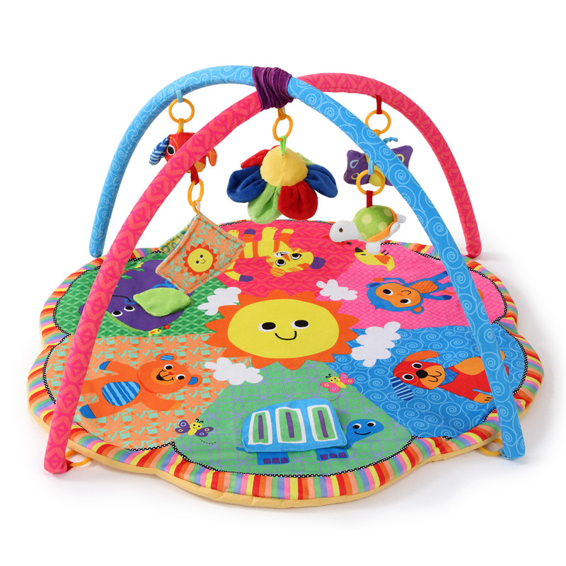 HTB1AjOsIcfpK1RjSZFOq6y6nFXaS Baby Play Mat 90*90*50cm Tapete Infantil Kids Rug Playmat Baby Gym Fitness Frame Activity Mat Baby Toys Early education CB111