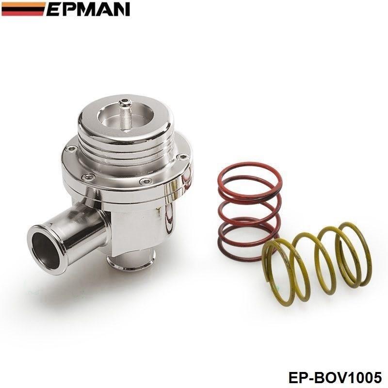 Prix pour AUTOFAB-Blow off valve 25 MM BOV (4bar) POUR VW argent (2 printemps sont 14PSI et 7PSI) AF-BOV1005