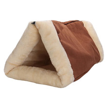 Katze Bett Matte Shack 2-in-1 Tunnel Thermo-Reflektierende Hund Haustier Zubehör Winter Warme