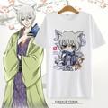 Kiss Kamisama Hajimemashita Love T shirt Anime tomoe Cosplay Costume free shipping Cute T-shirt Short Sleeve Tees