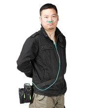 Кислородный концентратор с литий ионным аккумулятором 12 В постоянного тока, медицинский, автомобильный, 110 В, 220 В, портативный мини генератор кислорода, машина для производства O2