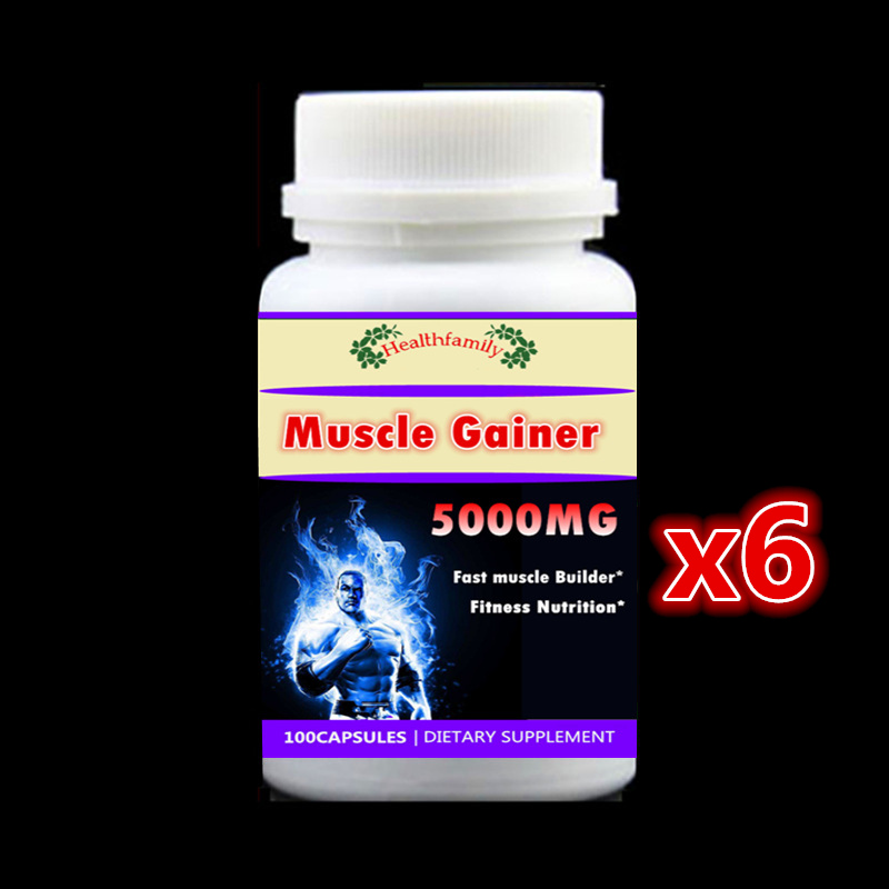 600 Pieces,Fast Add Muscle Formula Muscle Gainer Fitness Whey Protein Nutrition Supplement Increase Weight,High Quality цена
