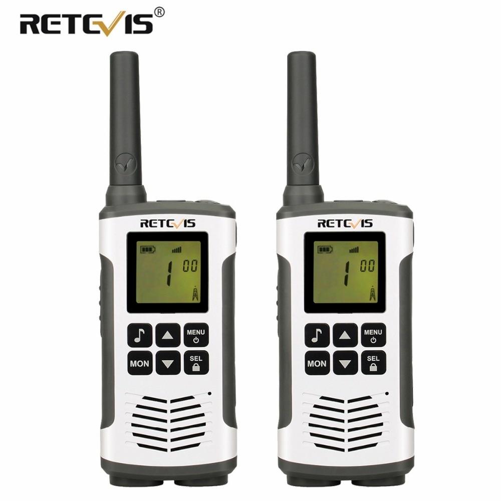 2 pcs Retevis RT45 Talkie Walkie PMR446 PMR Radio 446 mhz/FRS De Poche 2 Voies Radio Hf Émetteur-Récepteur micro USB De Charge VOX