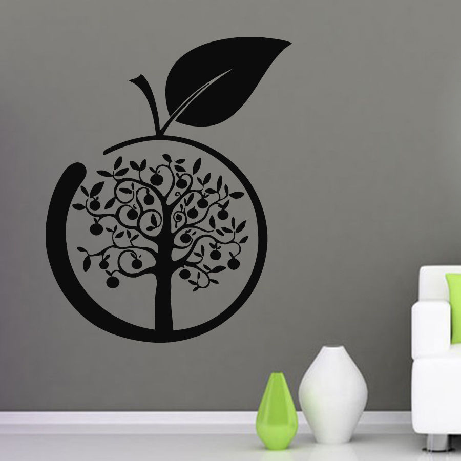 Popular Apple Kitchen Wall Decor Buy Cheap Apple Kitchen Wall