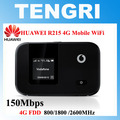 Desbloqueado huawei e5372 vodafone r215 4g lte mobile wifi hotspot router 150 mbps 3g 4g móvil