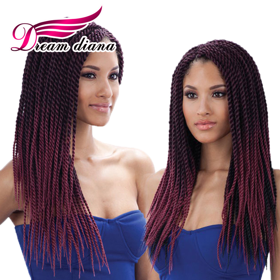 Crochet Hair Retailers : 18 Inches Crochet Braids Hair 30 Strands Crochet Braids Curly Hair ...