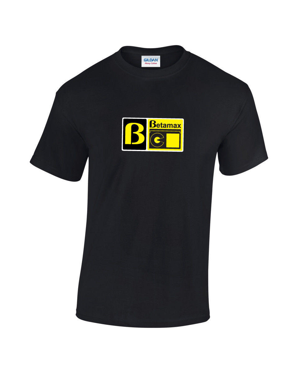 Betamax Retro Computer Video Gaming T-Shirt
