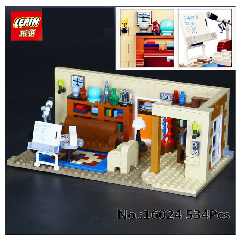 IN STOCK Lepin 16024 534Pcs Genuine IDEA Series The Big Bang Set action figures Building Blocks Brick fun Toys For Children Gift
