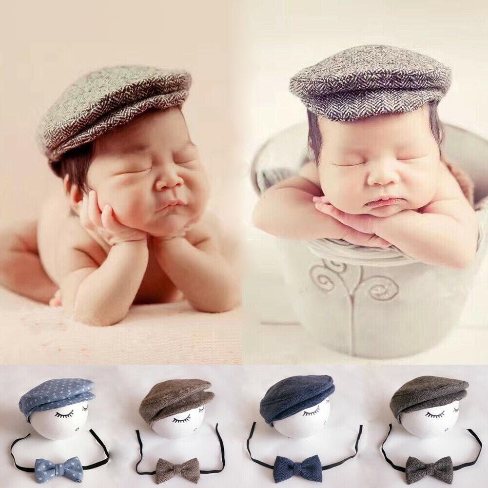 newborn flat cap prop