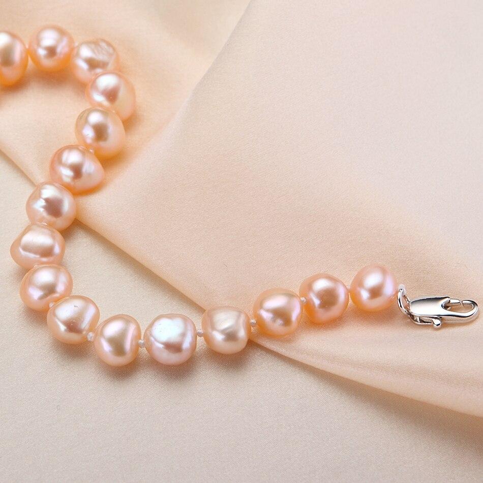 Feige Nueva oferta especial de estilo barroco 7-8 MM Rosa Natural de - Joyas - foto 4
