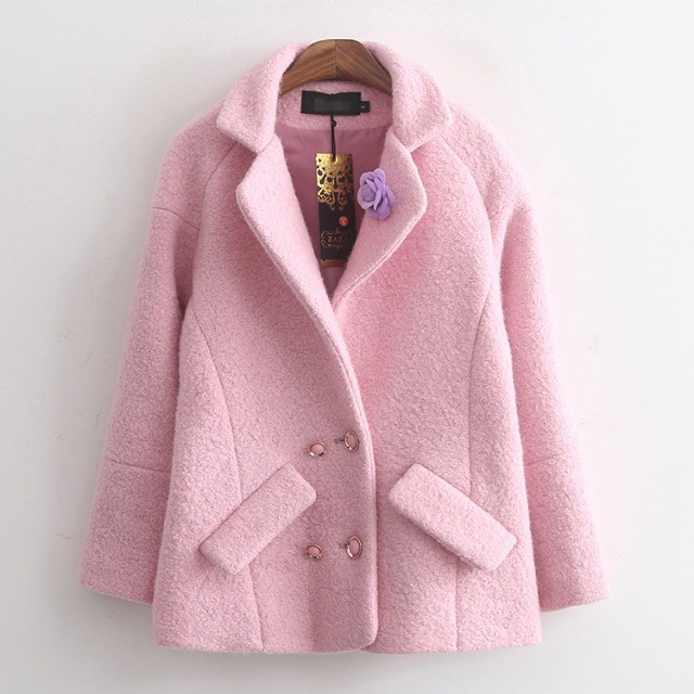Ladies Pink Winter Coats Photo Album - Reikian