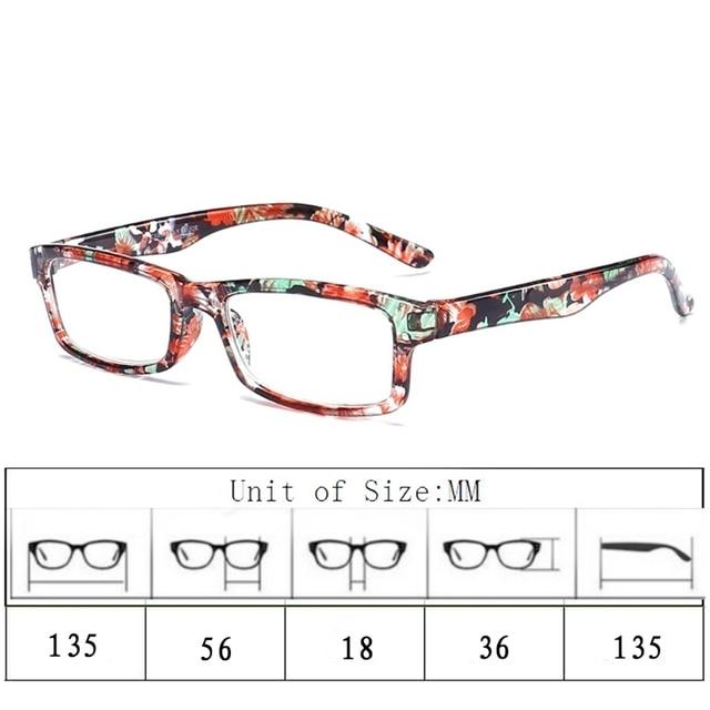 1cdb00fe34 Men Square Reading Glasses Women Anti Fatigue Transparent Eyeglasses  Fashion Small Frame Reading-glasses Unbreakable W715
