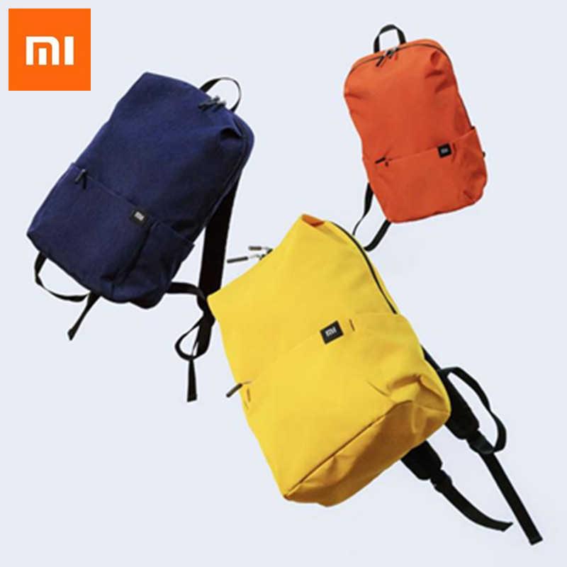 624c9a393b93 Оригинальный Xiaomi Mi рюкзак 10L сумка 8 цветов городского отдыха  спортивные Грудь обновления сумки Для мужчин