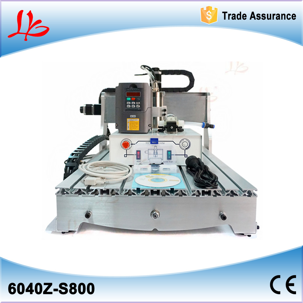 800W cnc wood carving machine 6040Z-S800 woodworking cnc router with ball screw, upgraded from CNC 6040, metal pcb cnc machine cnc router wood milling machine cnc 3040z vfd800w 3axis usb for wood working with ball screw