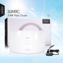 AZURE BEAUTY Nail Dryer For Gel Varnish Curing 1Pcs SUN9C UV LED Lamp 24W Machine For Gel Nail Polish Cheap Price 15 LED Lamps