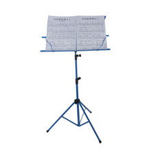 Foldable Music Sheet Tripod Stand Metal Music Stand Holder w