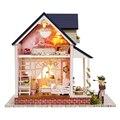 Ручной работы Кукольный Дом Мебель Миниатюрный Кукольный Домик Миниатюре Diy Кукольные Домики Деревянные Игрушки Для Детей Взрослые Подарок На День Рождения A60