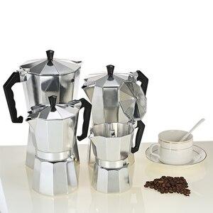 Image 3 - 50/150/300/450/600 مللي الألومنيوم Percolator صانع القهوة وعاء للخارجية أدوات المائدة الرئيسية مكتب صانع في الهواء الطلق أدوات المائدة