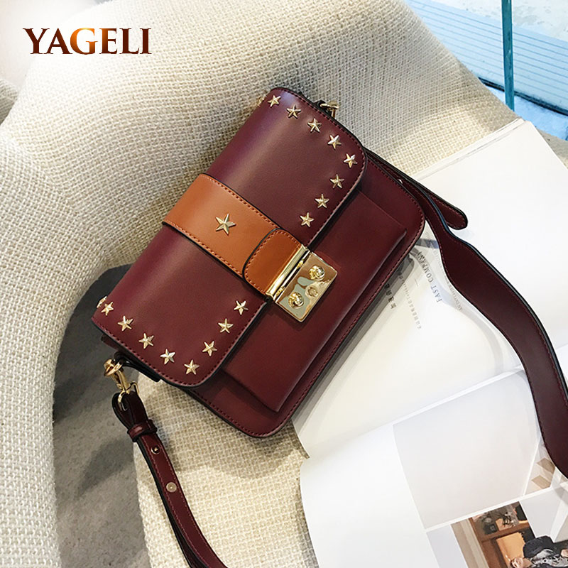 2017 fashion small ladies shoulder messenger bags brand design PU leather crossbody bags for women wide strap shoulder bags women shoulder bags leather handbags shell crossbody bag brand design small single messenger bolsa tote sweet fashion style