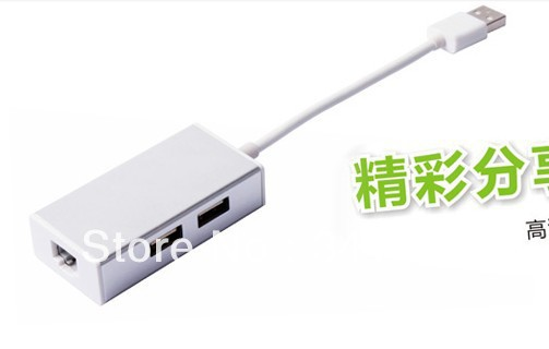 Macroscopical external usb wired network card computer ethernet ...