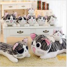 Hot 2016DIY Child Soft toy Funny Xiaoqi Cats Sweet Sweet little Qi Cats Onigiri Cat Toys Child & Gifts Free delivery