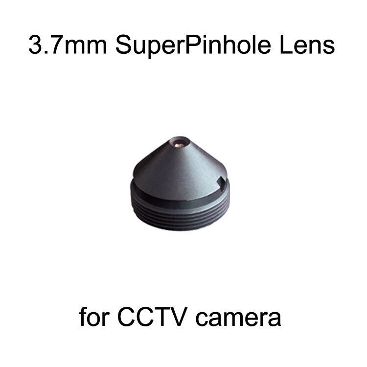 3 7mm super Pinhole lens for CCTV camera Digital camera lenses Security CCTV Accessories Mini Bank