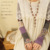 Mori Niña Primavera Otoño Lindo Camisetas Mujer de Manga Larga Acolchado Cosido Sin Dedos Mano Estiramiento Manga Floral camiseta D127