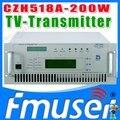 CZH518A-200W single-канальный Аналоговый ТВ Передатчик UHF 13-48 Канал тв вещания продукты