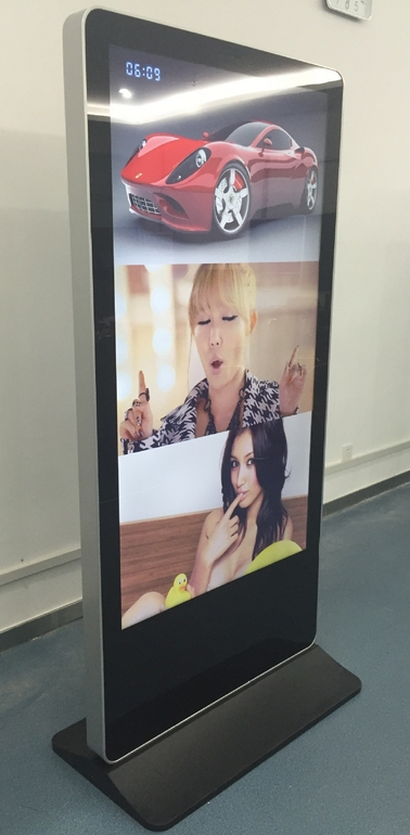 32/42/50 / 55 Inch Free Stand All In One PC Interactive Touch Lcd Advertising Display Kiosk
