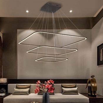 Soggiorno lampadario moderno e minimalista camera da letto ...