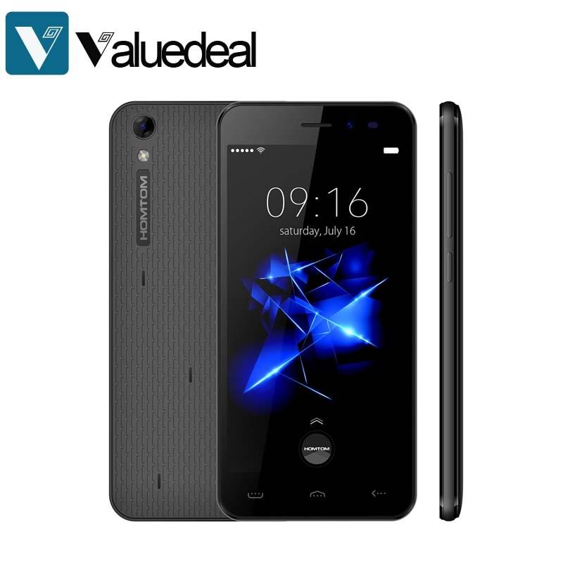 bilder für Homtom ht16 pro 5,0 zoll handy android 6.0 mt6737 quad Core 2 GB RAM 16 GB ROM 4G Smartphone 13,0 kamera Handy