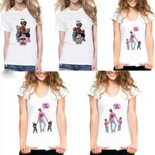 Mommy's Love Female T-shirt Super Mama Print Women's Clothing New Vogue Print T Shirt Fema