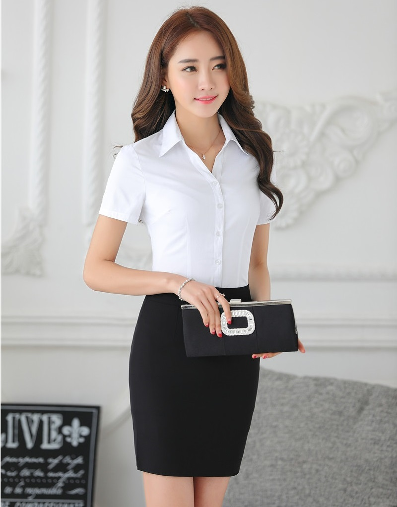 Formal Women Business Suits With Two Piece Sets Skirt And